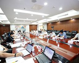 全国体育新闻工作者足球联赛组委会召开
