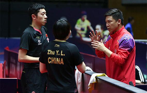 国际乒联日本公开赛|中国混双夺冠 男女单顺利晋级