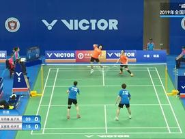 2019全国羽毛球单项锦标赛第二日比赛1