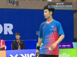 全国羽毛球单项锦标赛半决赛-八一vs湖南