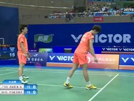 全国羽毛球单项锦标赛半决赛-广东vs四川