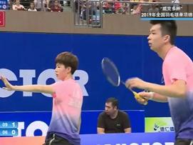 全国羽毛球单项锦标赛半决赛-浙江vs广东