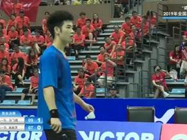 2019年全国羽毛球单项锦标赛决赛-孙飞翔vs高政泽