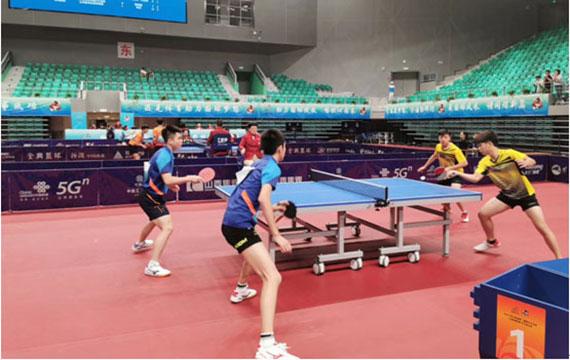 二青会乒乓球赛事:港澳选手展风采