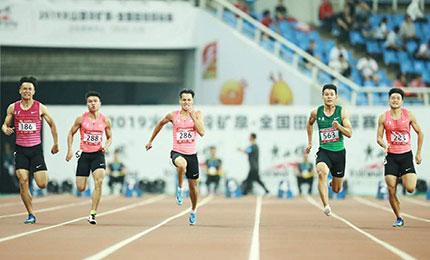 男子百米赛场显示中国短跑项目人才厚度