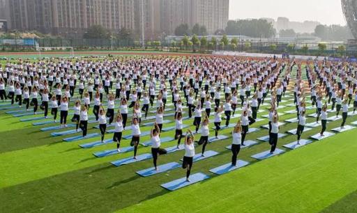 体育+旅游|全国健身瑜伽俱乐部联赛在濮阳清丰举行