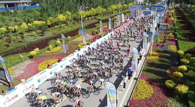 第18届环青海湖自行车赛第三日赛况