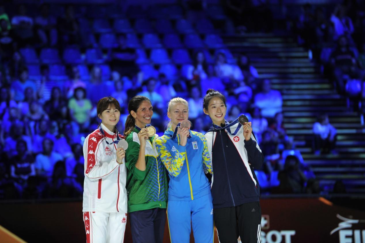2019年世锦赛女重林声摘银