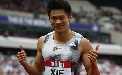 鑽石聯賽倫敦站 謝震業200米奪冠破亞洲紀錄