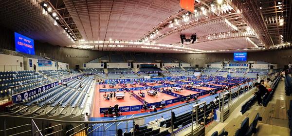 全国乒乓球锦标赛(决赛)今日在天津武清开赛