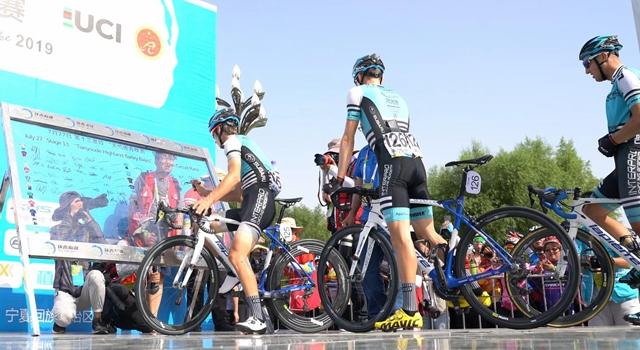 第18届环青海湖自行车赛第十三赛段赛况