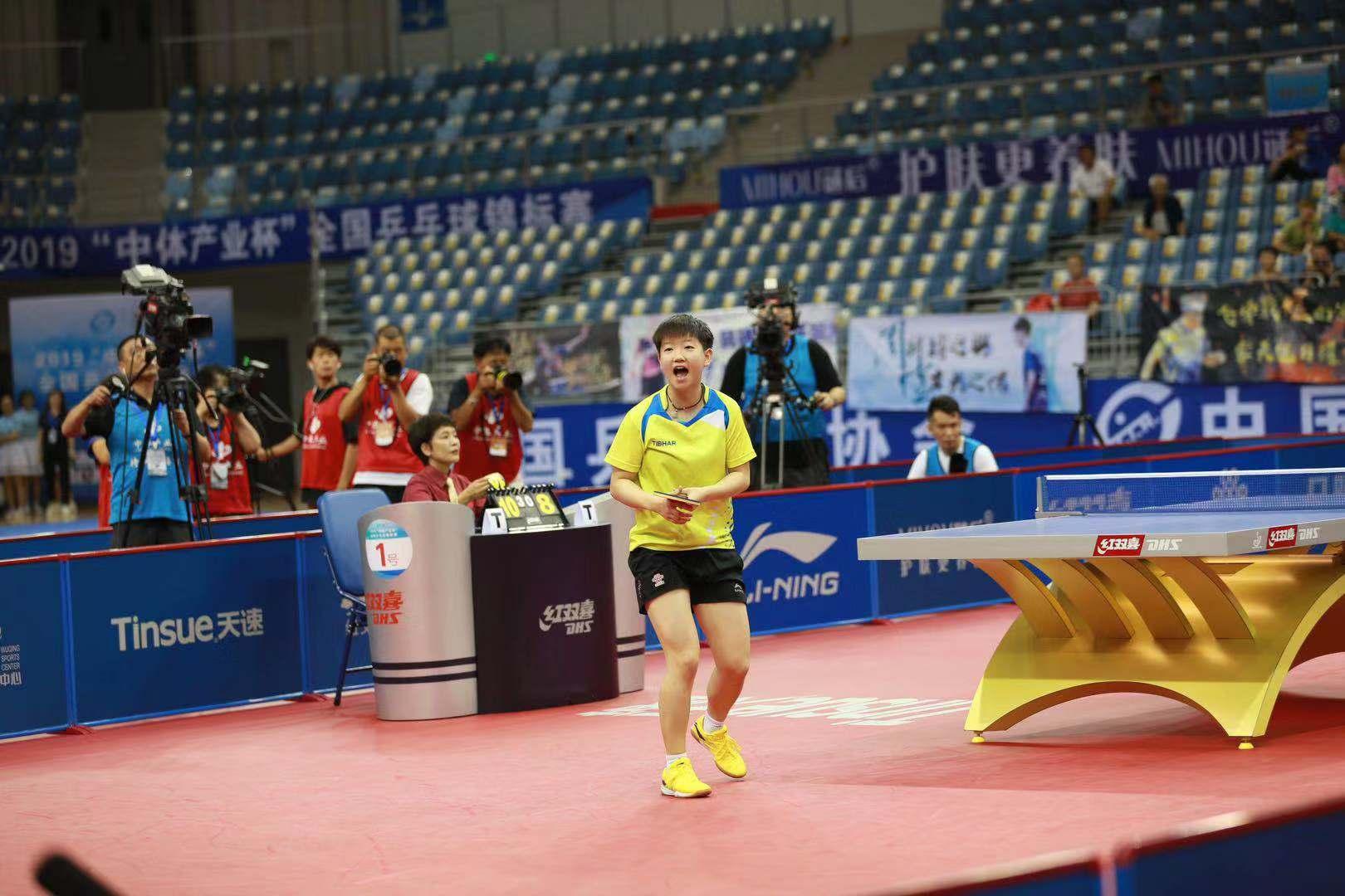 全錦賽孫穎莎女單登頂 坦言期待未來更多冠軍