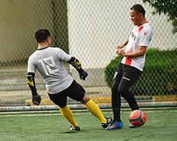 全国体育新闻工作者足球联赛(陕西赛区)激战图集