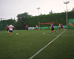 全国体育新闻工作者足球联赛(河南赛区)第五轮激战图集