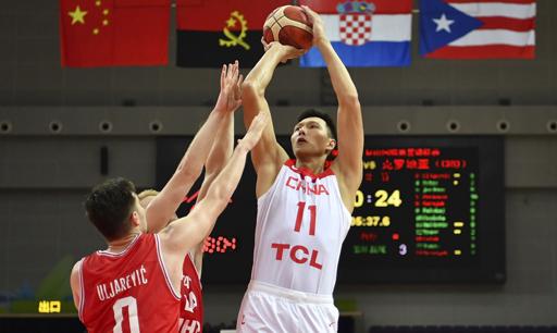 男篮世界杯战力榜中国第15 美国居首有望三连冠
