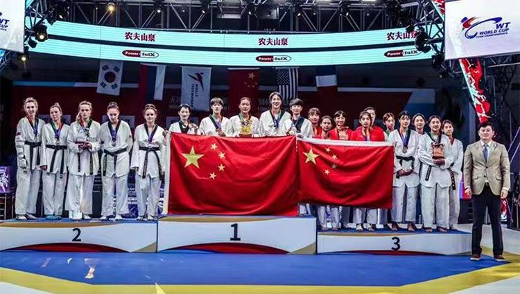团体世界杯今日开赛,中国女队逆转俄罗斯豪夺三连冠!