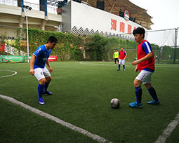 全国体育新闻工作者足球联赛(河南赛区)第七轮激战图集