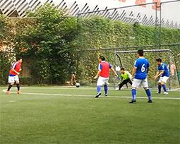 全国体育新闻工作者足球联赛(河南赛区)第七轮激战视频