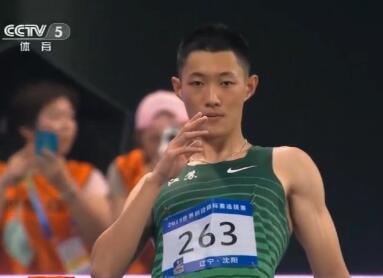世锦赛选拔赛王嘉男获得男子跳远冠军