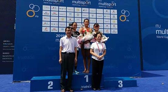 騎跑兩項世界杯賽 中國選手湯智琳勇奪女子優秀組冠軍