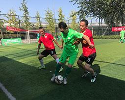 首届全国体育新闻工作者足球联赛(山西赛区)激战图集