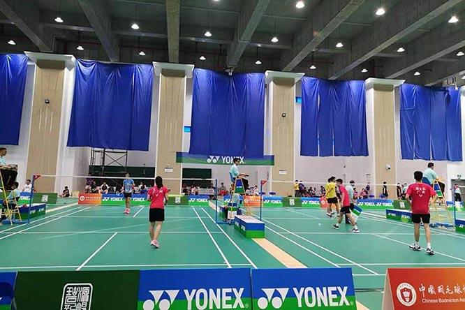 2019年全国U17-18羽毛球比赛(南方赛区)在常州举行