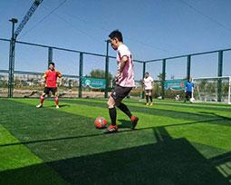 全国体育新闻工作者足球联赛(银川赛区)精彩图片