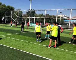 全国体育新闻工作者足球联赛(石嘴山赛区)精彩图片