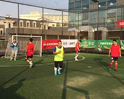 首届全国体育新闻工作者足球联赛(山东-济南赛区)激战图集