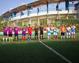 首届全国体育新闻工作者足球联赛(河南赛区)第十轮队伍图集