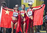女子20公里竞走 中国队包