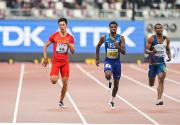 谢震业晋级世锦赛男子200米决赛