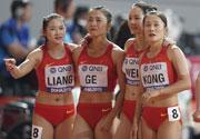中国女队角逐世锦赛4X10
