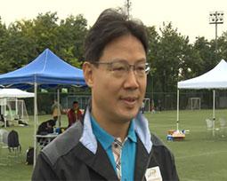 林晓华:奥体中心重视全民健身 为媒体联赛提供帮助
