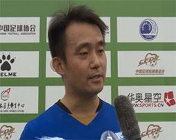 郑道锦:身体力行参与足球 高水平联赛促媒体人友谊