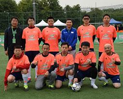 首届全国千赢国际娱乐下载新闻工作者足球联赛北京赛区全家福(一)