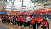 安徽省第三届健身休闲大会健身瑜伽比赛在宿松县举行