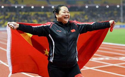 军运会田径项目开赛 王峥拿下中国田径首金
