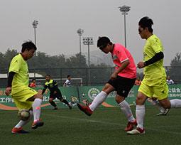 媒体联赛(北京赛区)第三轮激战图集