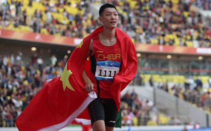 军运会田径比赛第三日 中国军团斩获2金2银