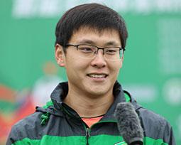 李文辉:团队凝聚力很重要 遇事不退缩不放弃