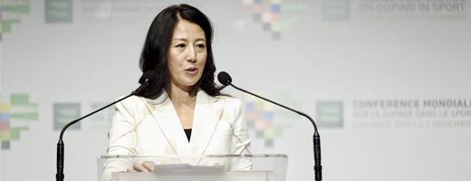 楊揚當選世界反興奮劑機