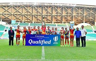 历史性突破!中国女子橄榄球队挺进东京奥运!