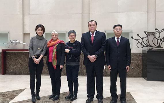 中國體育博物館副館長在京會見國際奧委會文化遺產基金會主任一行