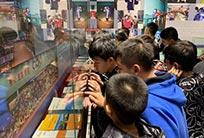 训练营队员参观中国乒乓球运动成就展馆