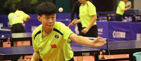 2019年全国青少年乒乓球训练营(女队)5-5平关键球升降赛成绩出炉