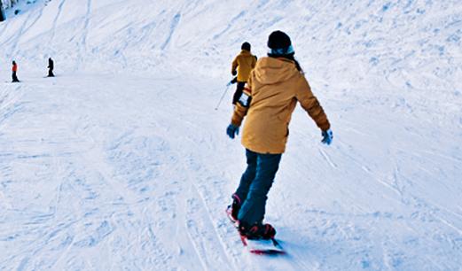 滑雪,为夜间经济注入新动能