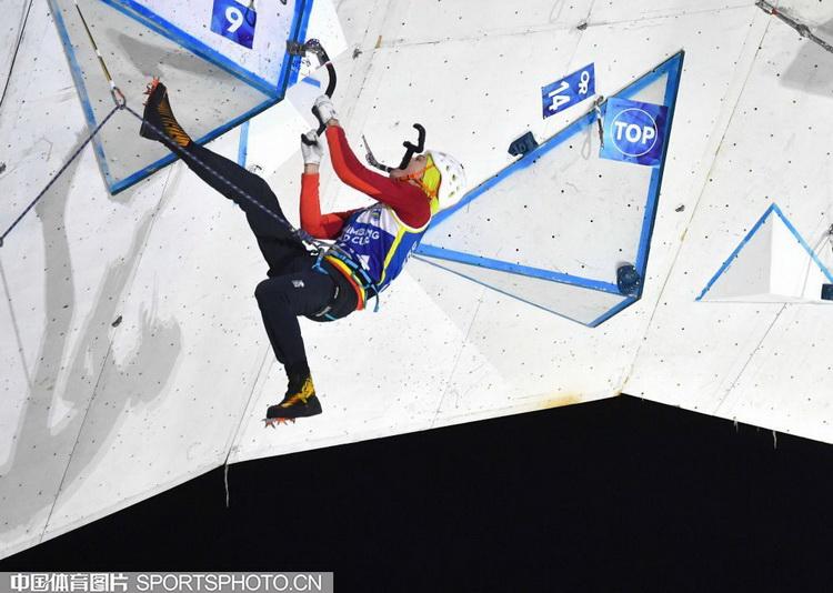 【组图】2020国际攀联攀冰世界杯难度决赛赛况