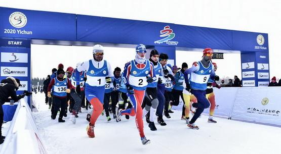 2020全国冬季铁人三项赛在林都伊春火热开赛