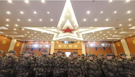 """144名""""新兵""""入营,国乒以最有针对性的军训揭幕奥运年"""